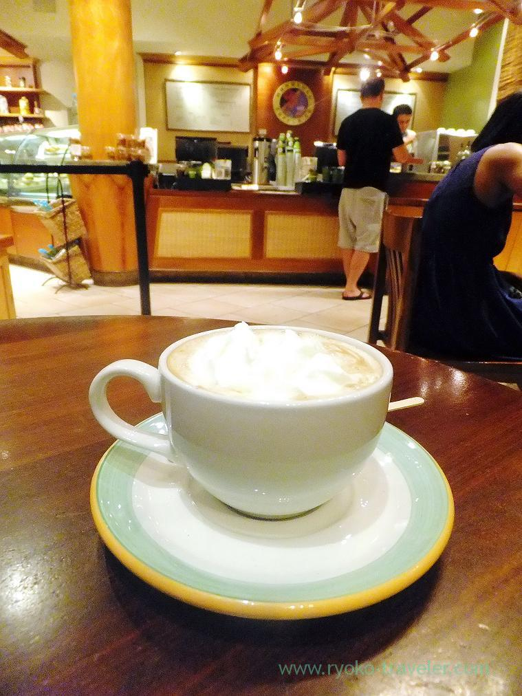 Cafe latte, Honolulu cofee, Honolulu 2014