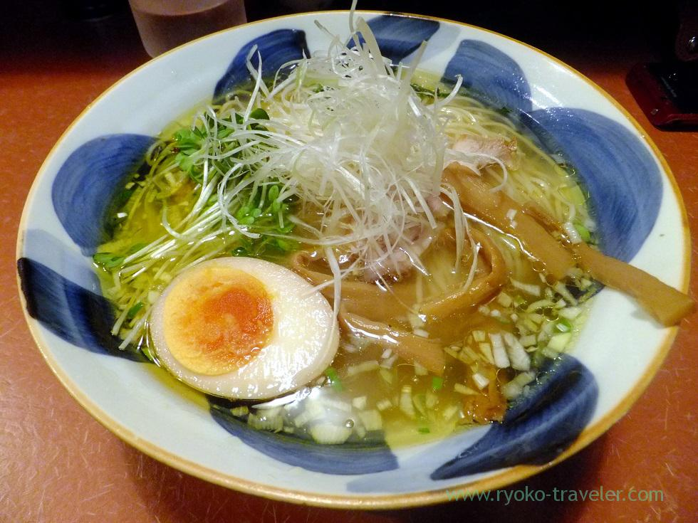 Chicken broth ramen, Daiki (Yushima)