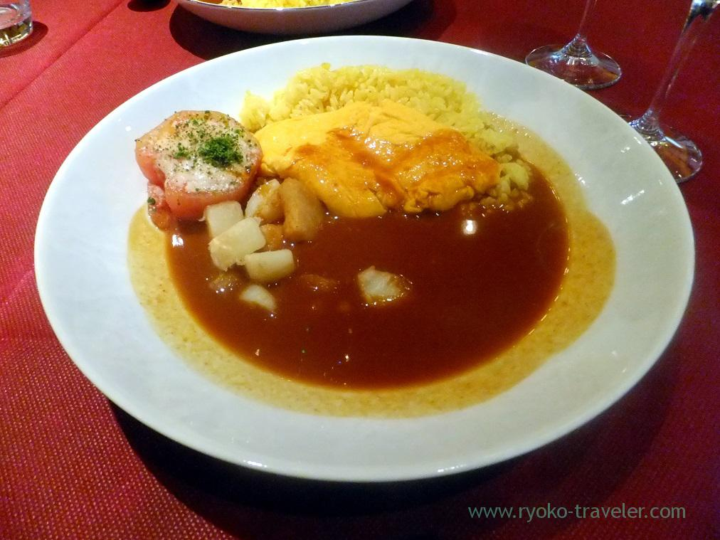 Curry with omlet, Chez Inno (Kyobashi)