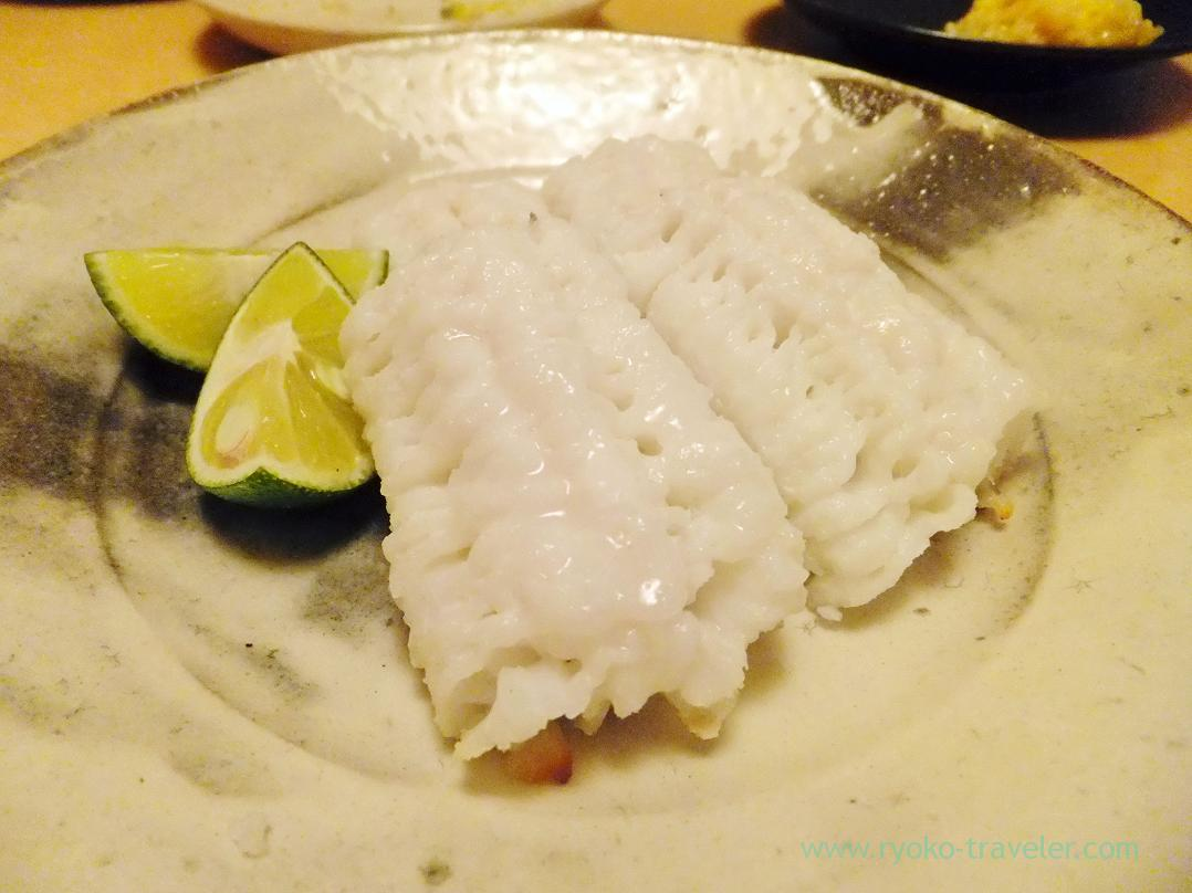 Grilled pike conger with salt, Ginza Shimada (Ginza)