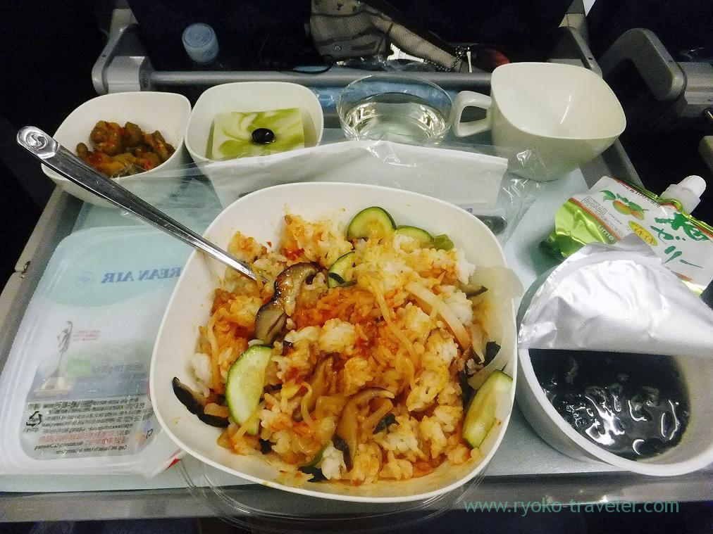 Inflight meals 1, Honolulu 2014