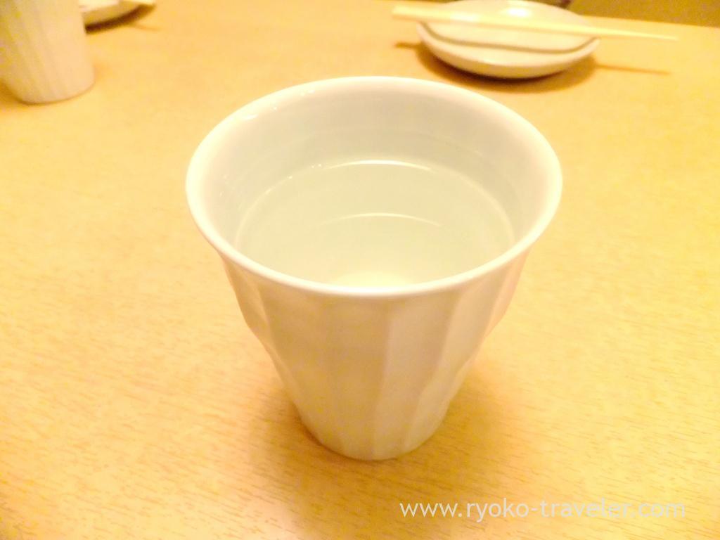 Japanese sake, Ginza Shimada (Ginza)