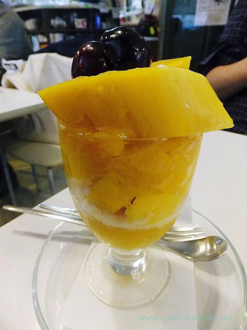 Mango Parfait, Fukunaga Fruits Parlor (Yotsuya-sanchome)