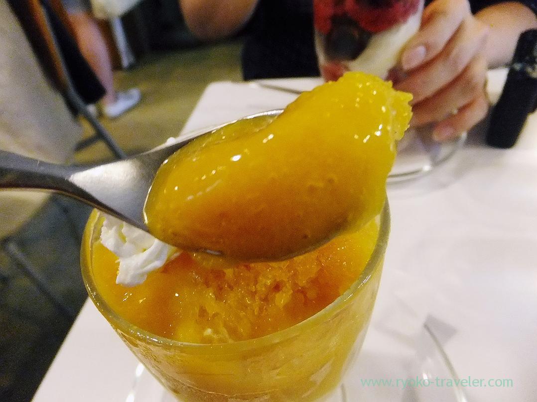 Mango sorbet, Fukunaga Fruits Parlor (Yotsuya-sanchome)