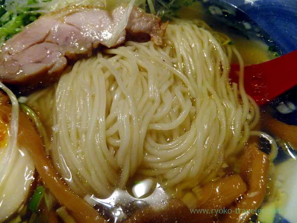 Noodles of ramen, Daiki (Yushima)