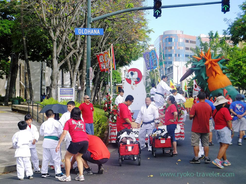 Preparation, Matsuri in Hawaii, Honolulu 2014