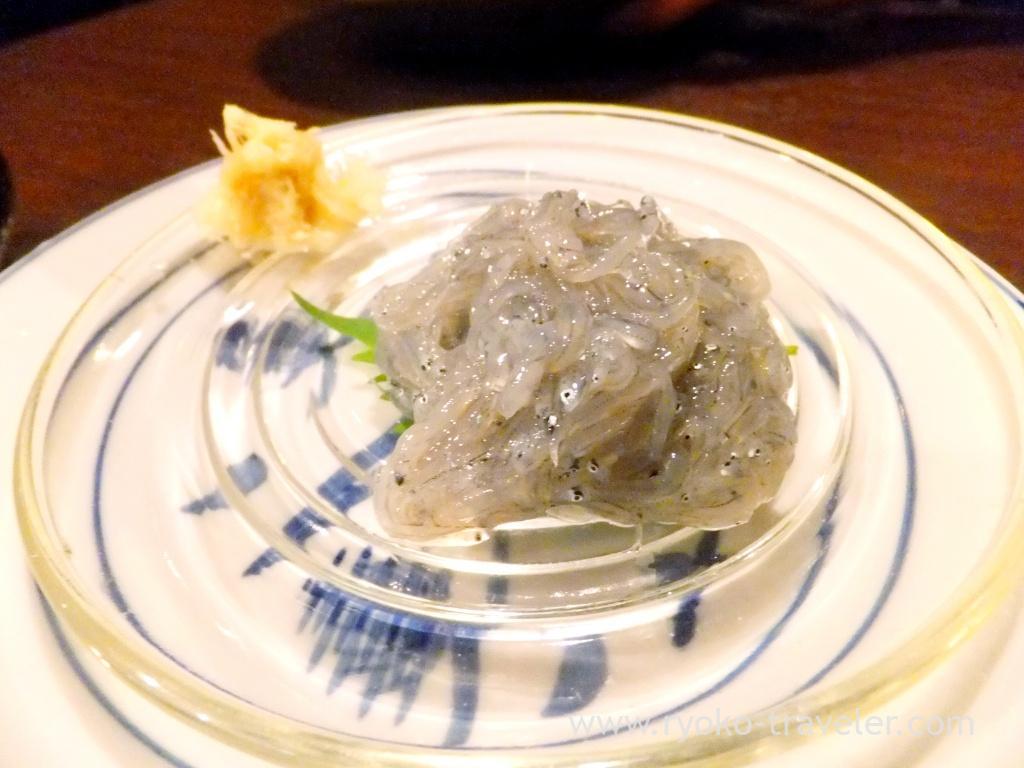 Raw young sardines, Binnteji (Asakusabashi)