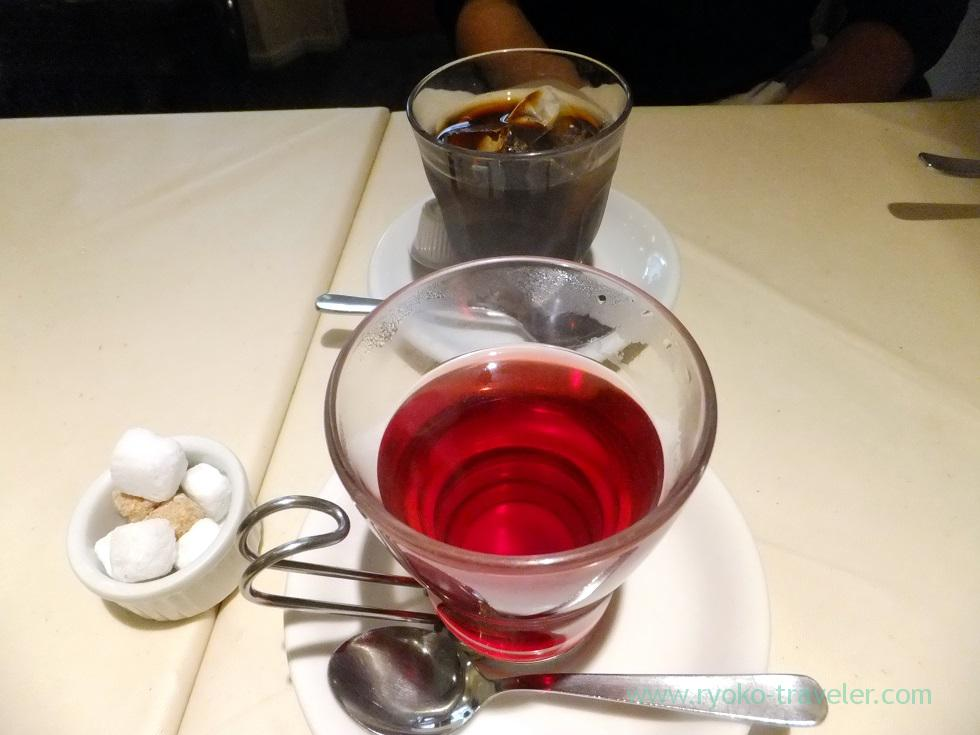 Rose hips tea, La Porte Rouge (Kiba)