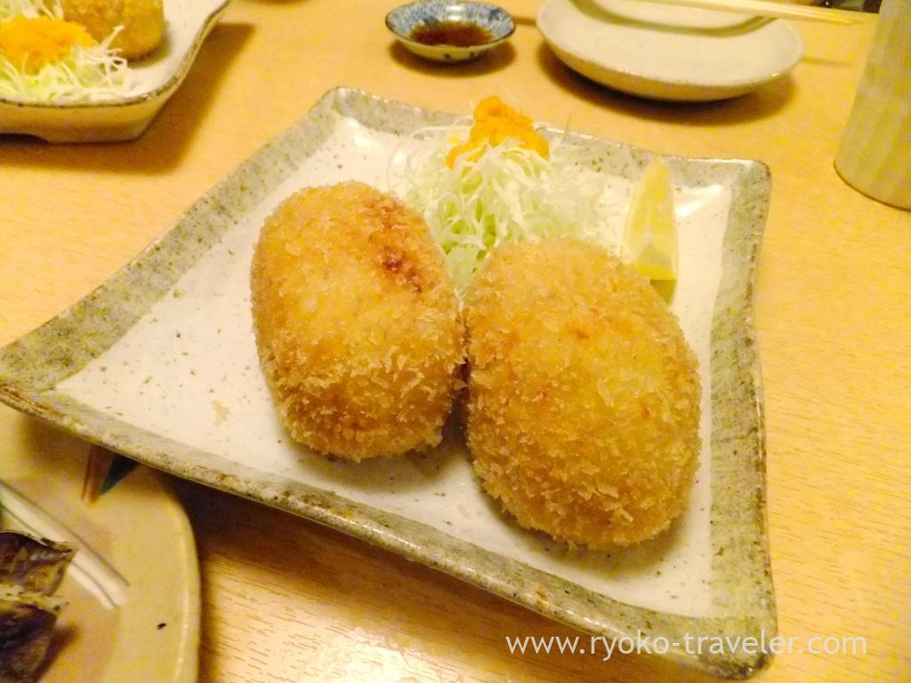 Snow crabs cream croquette, Ginza Shimada (Ginza)