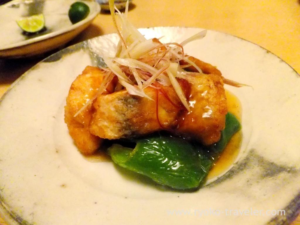 Sweet and sour flathead, Ginza Shimada (Ginza)