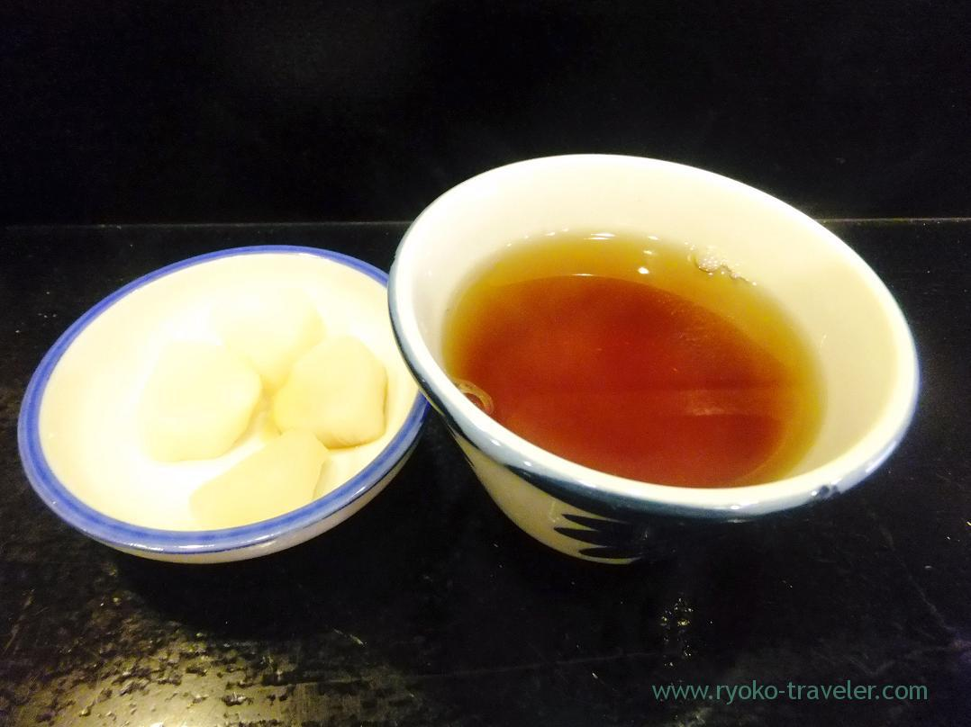 Tea and pickled vegetables, Hyotan-ya Ginza 1-chome branch (Ginza)