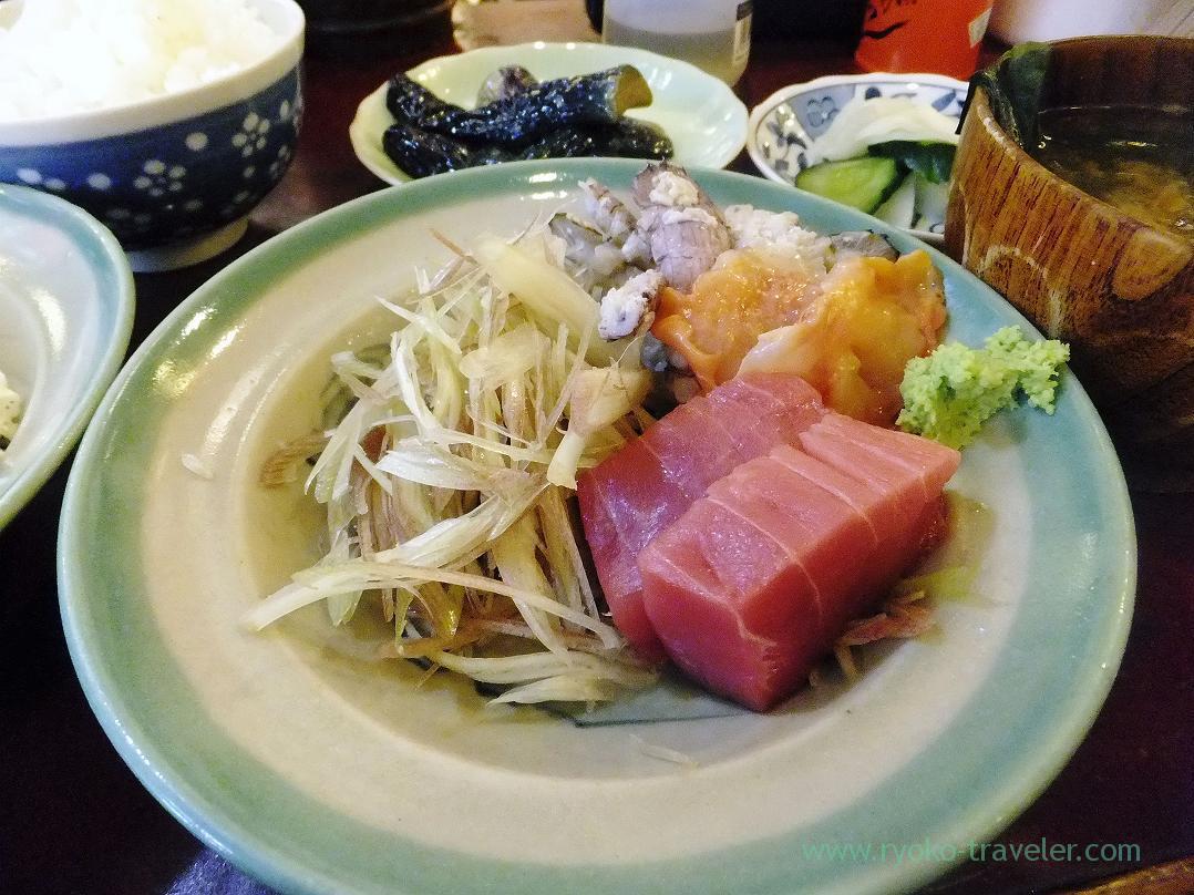 Assorted sashimi, Yonehana (Tsukiji Market)