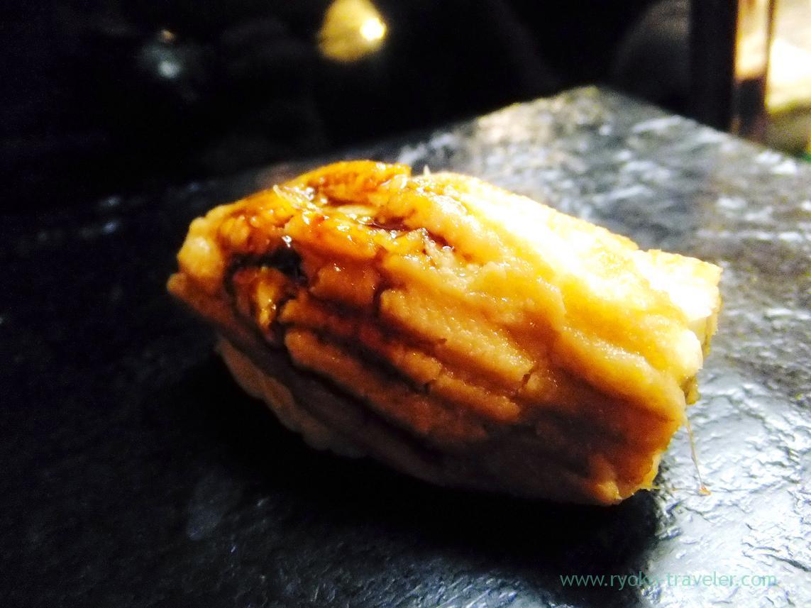 Boiled conger eel with sauce, Miyakozushi (Bakuro-Yokoyama)