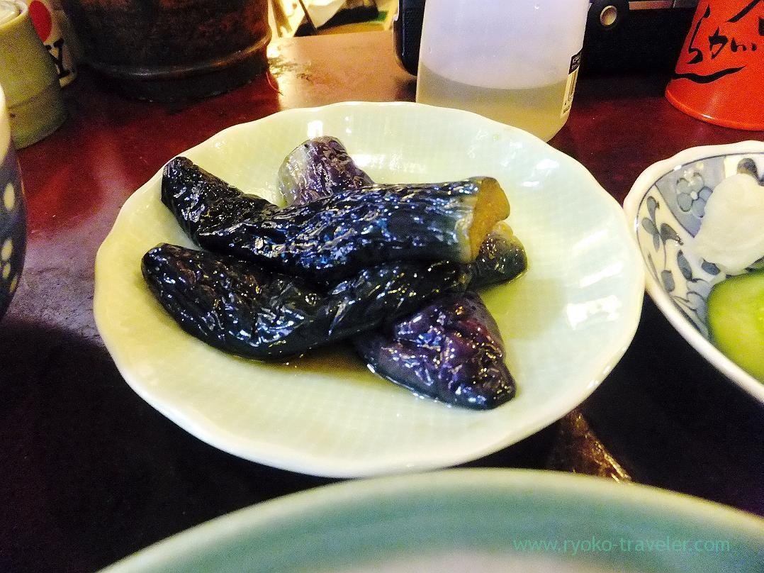 Boiled eggplant, Yonehana (Tsukiji Market)