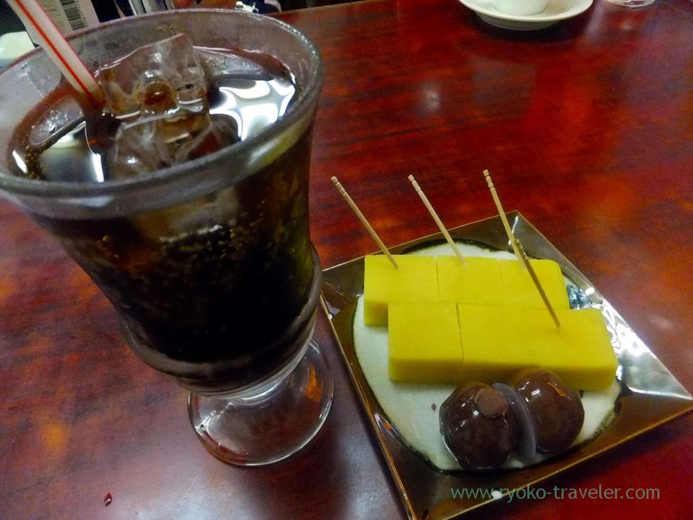 Imo-yokan and coke, Funawa (Keisei-Tateishi)