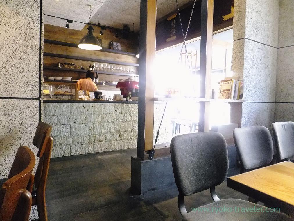 Appearance, Monz cafe (Monzen-nakacho)