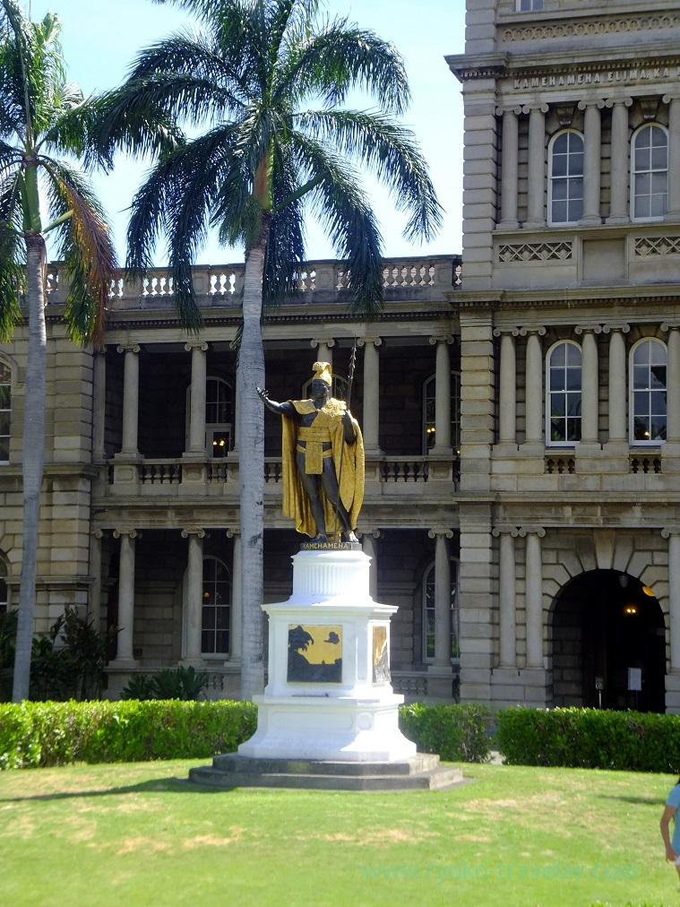 KING Kamehameha, Hawaii (Honolulu 2014)