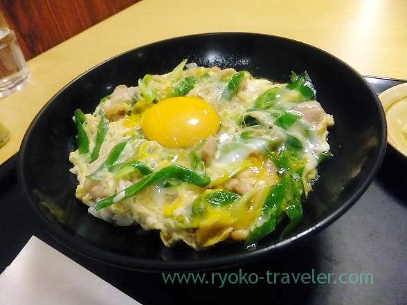 Oyakodon, Osaka local foods fair (Funabashi Tobu)