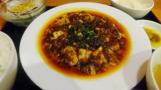 Makuhari-Hongo : Chen Mapo tofu at Manzan as usual (蔓山)