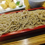 Tsukiji : Tempura soba at Long-established Nunotsune Sarashina (布恒更科)