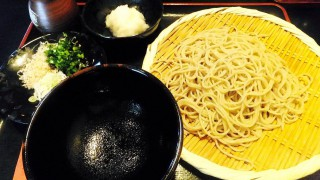 Tsukiji : Soba with Karami-daikon radish (長生庵)