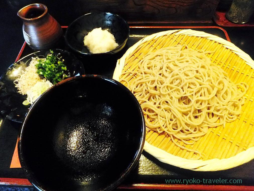 Soba with Karami-daikon radish, Choseian (Tsukiji)