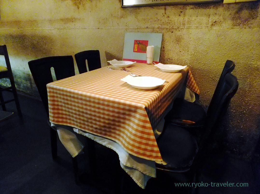 Table, Yamagishi Shokudou (Ginza)