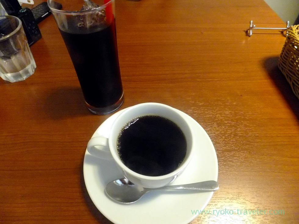 Coffee after the meal, Cracca italian (Tsudanuma)