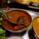 Daijingu-shita : Lunch plate at Sarnath (サールナート)