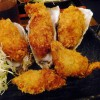 Nihonbashi : Deep fried oysters all year around at Akkeshi of Hokkaido Honten (北海道厚岸 日本橋本店)
