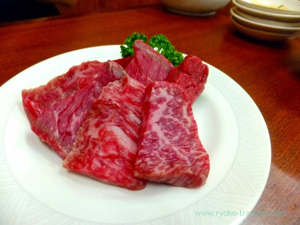 Aged beef, Yamadaya (Mikawashima)