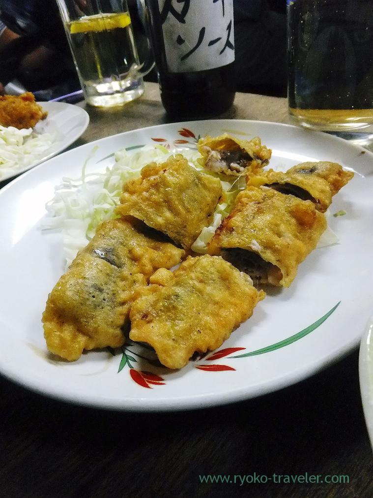 Deep fried sardines, Toyotaya (Hirai)