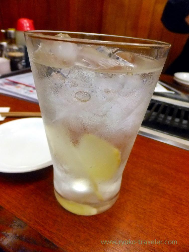 Ginger high ball, Yamadaya (Mikawashima)