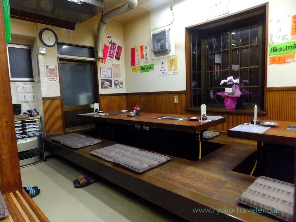 Interior, Yamadaya (Mikawashima)