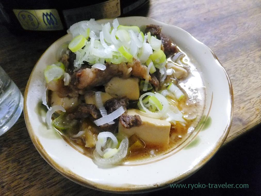 Simmered beef and tofu, Toyotaya (Hirai)
