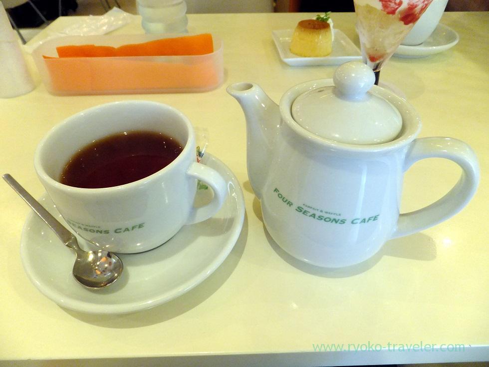 Tea, Four seasons cafe (Nishi-Kasai)