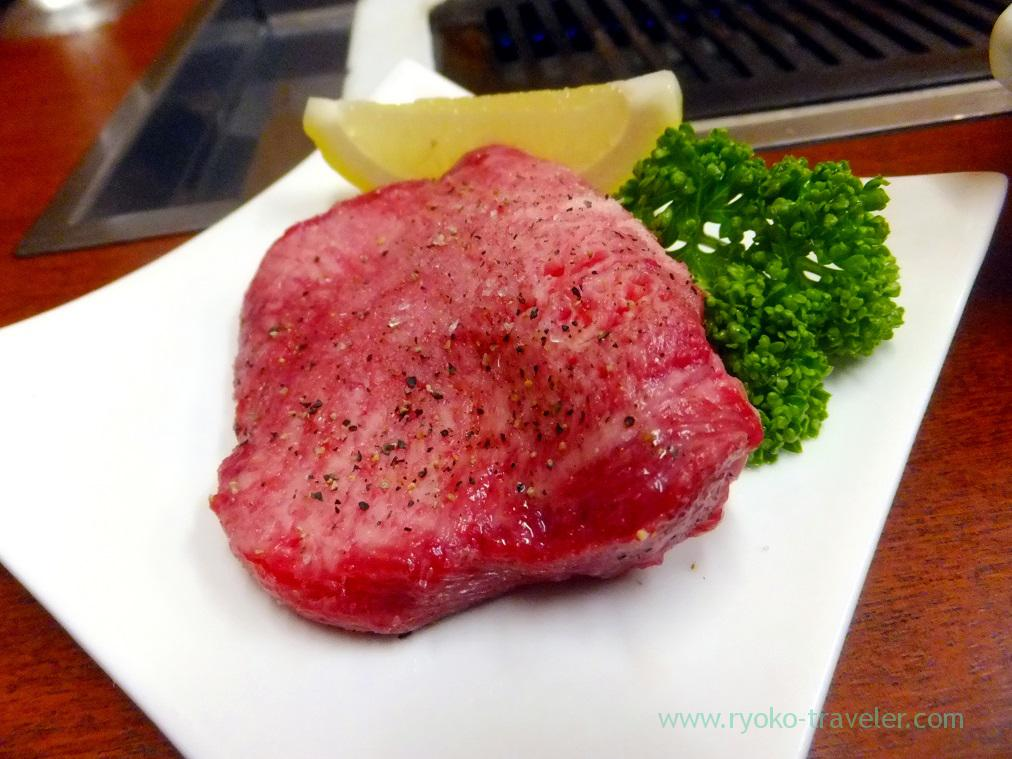 Thickly sliced beef tongue, Yamadaya (Mikawashima)