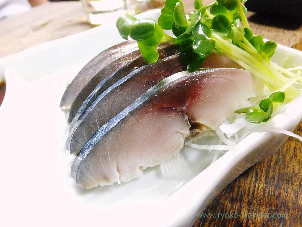 Vinegared mackerel, Toyotaya (Hirai)