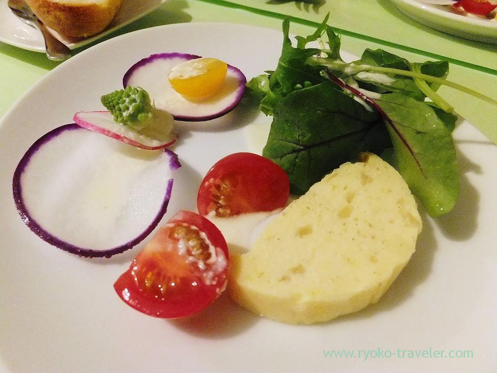Cod and scallop terrine, Persil (Ginza)