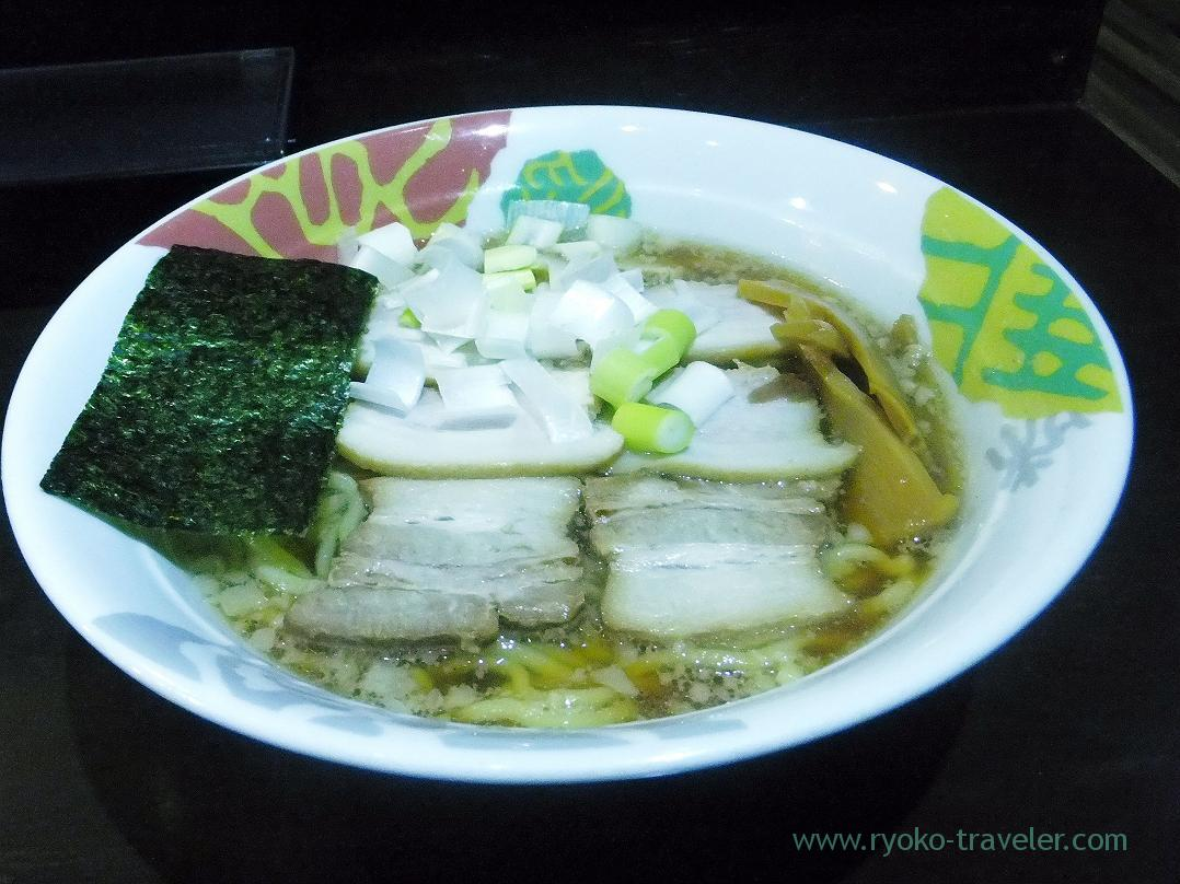 Dried sardine soup ramen with pork, Menya Soumei (Keisei Okubo)
