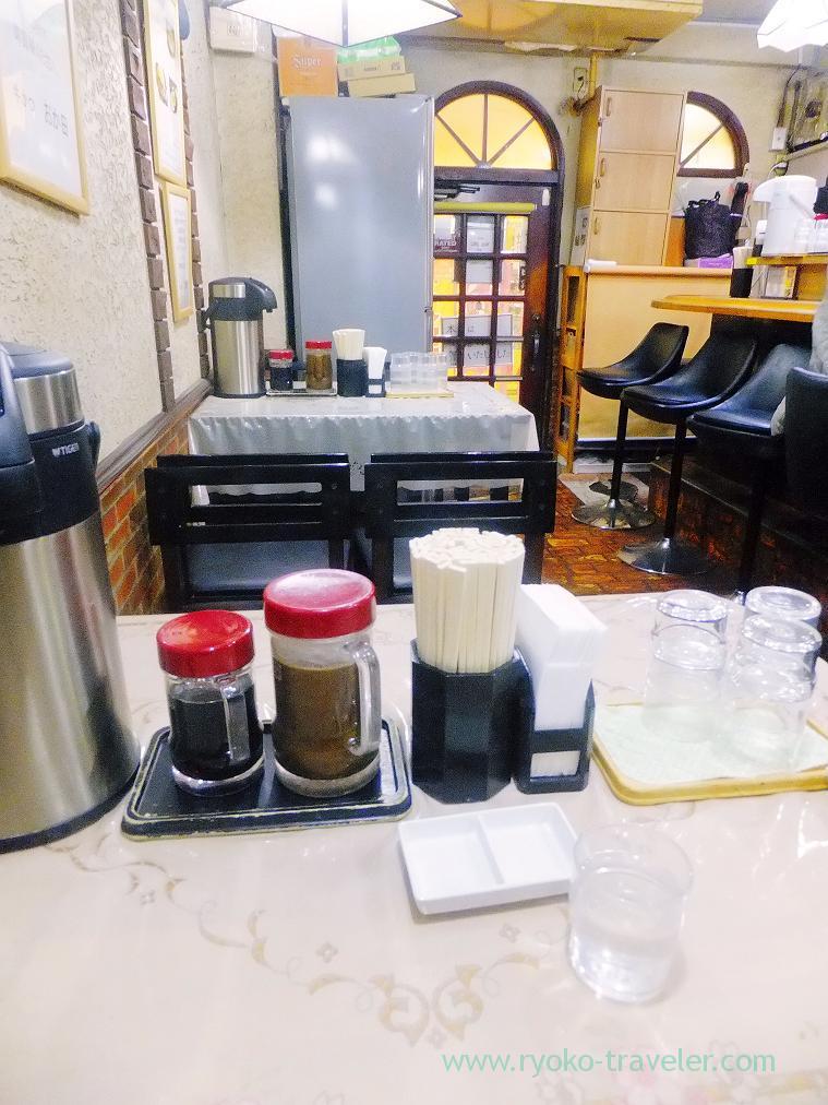 Interior, beef cutlet Okada (Shinbashi)