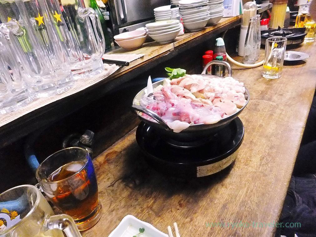 Our hotpot, Toyotaya (Hirai)