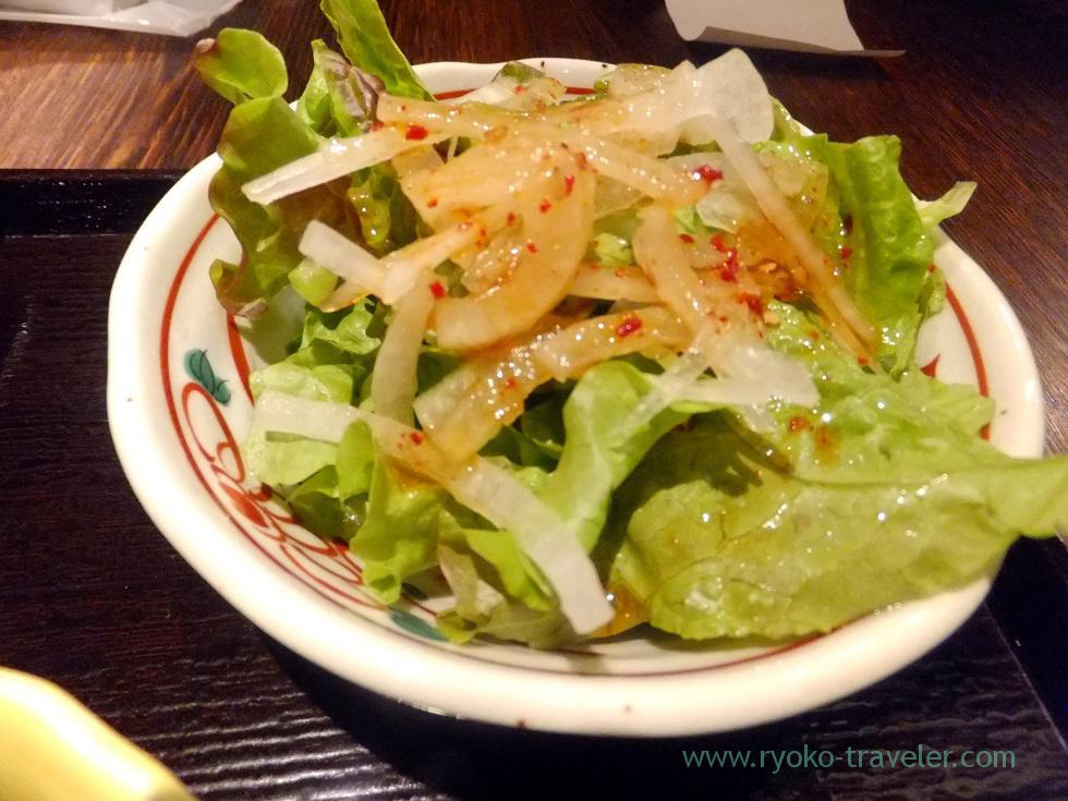 Salad, Yamagatayama Tsukishima branch (Tsukishima)