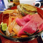 Tsukiji Market : Last breakfast at Tsukiji 2014 for me (米花)