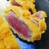 Shinbashi : So popular beef cutlet (牛かつ おか田)