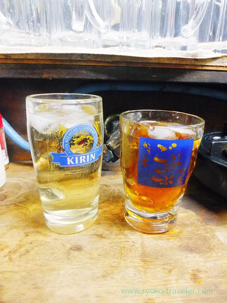 Whisky highball and oolong tea, Toyotaya (Hirai)