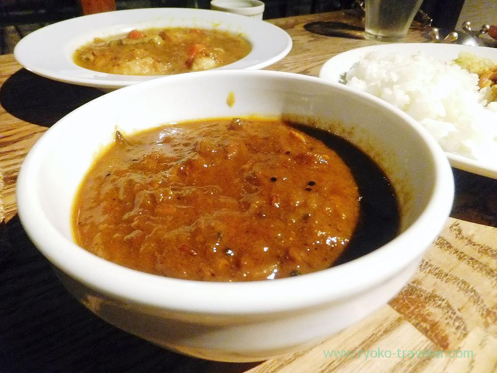 mutton curry, Tokyo Skytree (Oshiage)