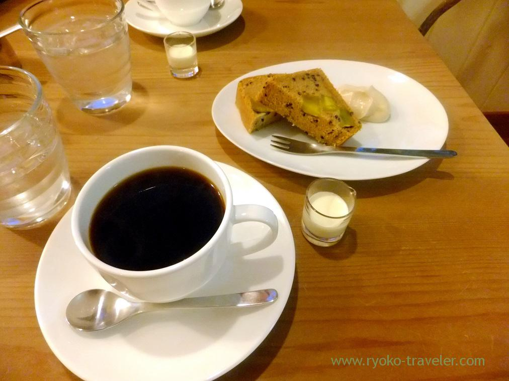 Coffee and cake, Yawata plus coffee (Motoyawata)