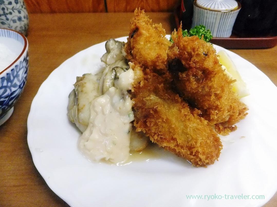 Deep fried oysters, Odayasu (Tsukiji Market)