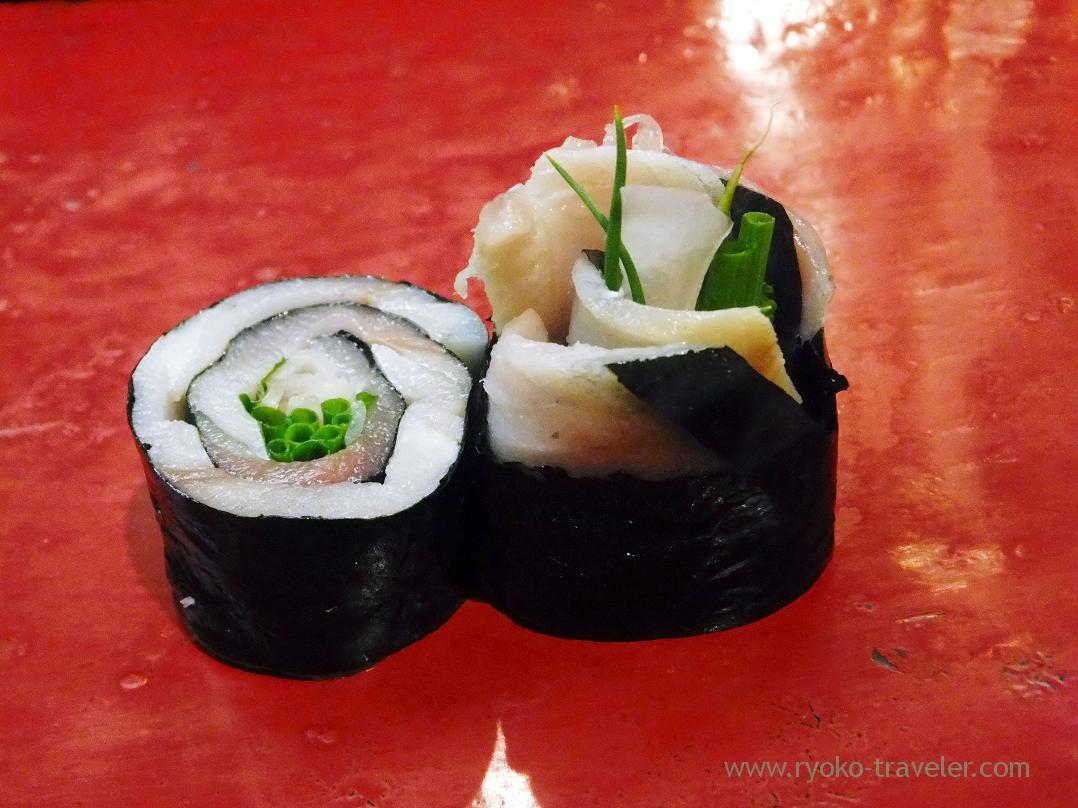 Mackerel roll, Miyakozushi (Bakuro-Yokoyama)
